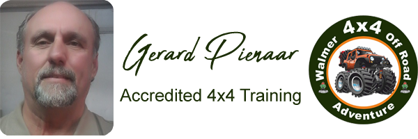 Walmer 4x4 Off Road Adventure, Gerard Pienaar, Accredited 4x4 Training